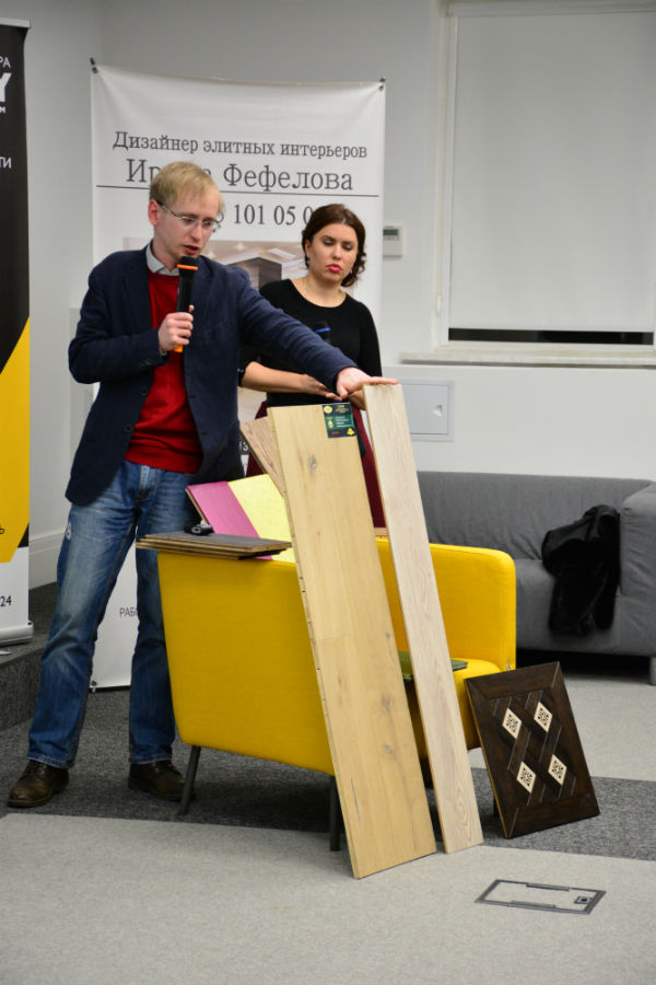 Александр Мешков и Ольга Вязовецкова, компания Parketoff Group