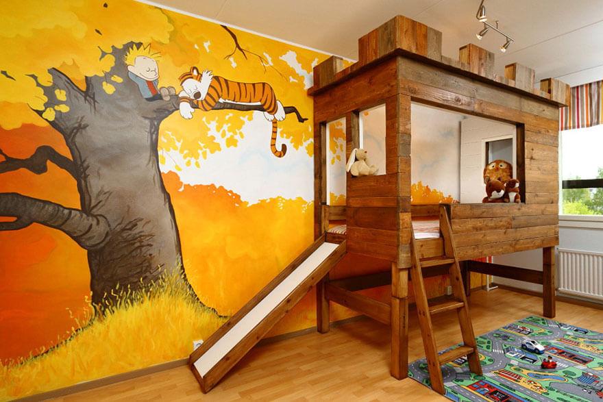 Необычный дизайн комнаты для подростка мальчика фото
